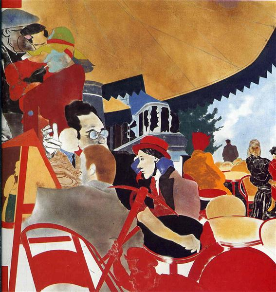 The Autumn of Central Paris - R. B. Kitaj