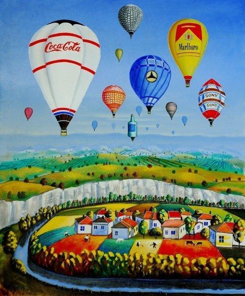Balloons, 2004 - Radi Nedelchev