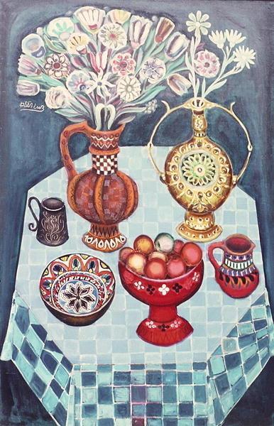 Still Life with Red Apples, 1967 - Radi Nedelchev