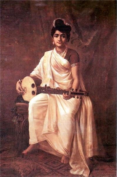 Malabar Lady - Raja Ravi Varma