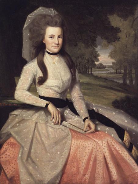 Clarissa Seymour (later Mrs. Truman Marsh), 1789 - Ralph Earl