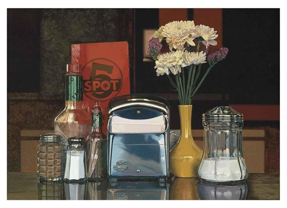 Five Spot Still Life, 1990 - Ralph Goings