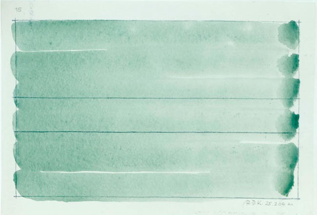 Untitled, 2004 - Raoul De Keyser
