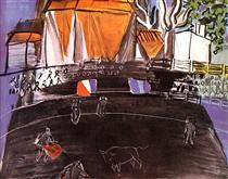 The Bullfight - Raoul Dufy