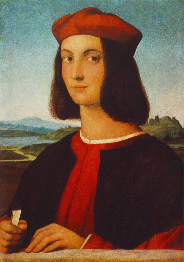 Portrait of the Young Pietro Bembo, 1504