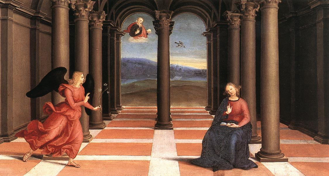 The Annunciation, 1502-1503