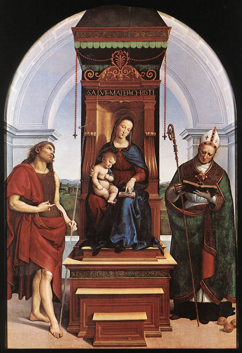 The Madonna and Child with St. John the Baptist and St. Nicholas of Bari, 1505