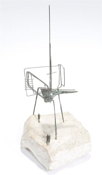 The Unknown Political Prisoner (Maquette), 1953 - Reg Butler