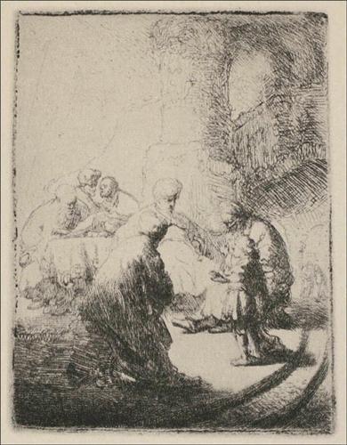 Jesus Disputing with the Doctors - Rembrandt