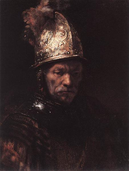 Man in a Golden Helmet, 1669 - Rembrandt