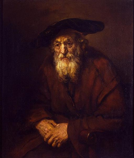 Portrait of an Old Jew, 1654 - Rembrandt