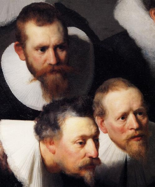 The Anatomy Lesson Of Dr Nicolaes Tulpfragment 1632 Rembrandt