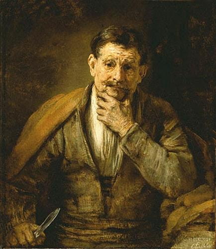 The Apostle Bartholomew - Rembrandt