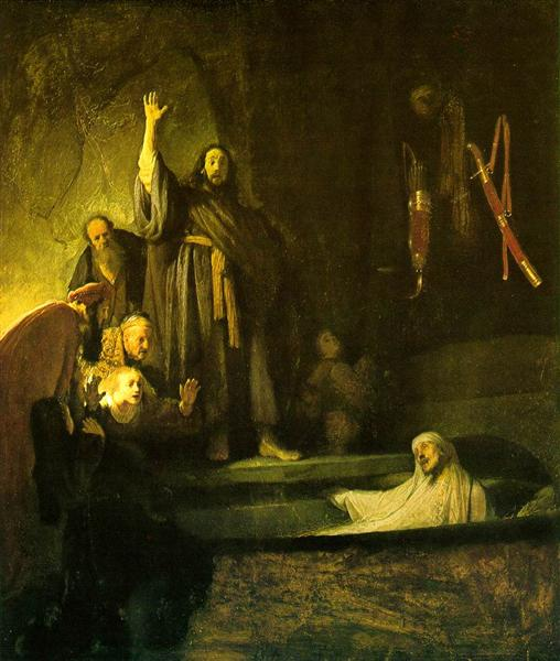 The Raising of Lazarus - Rembrandt