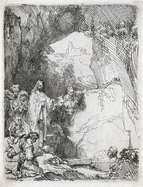 Воскресіння Лазаря, 1642 - Рембрандт