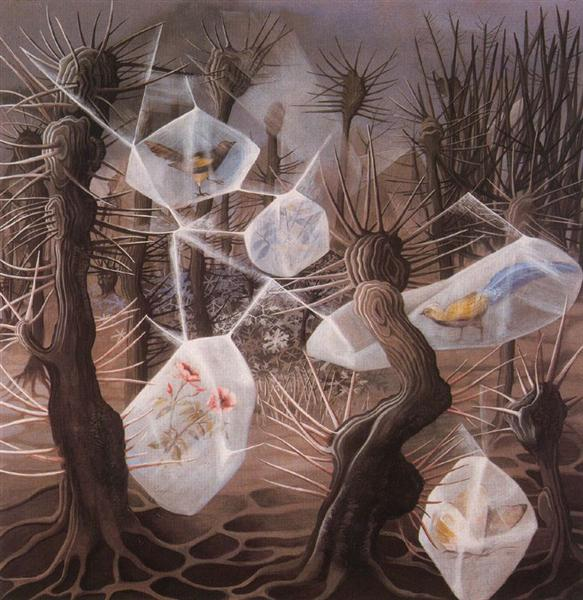 Allegory of Winter, 1948 - Remedios Varo