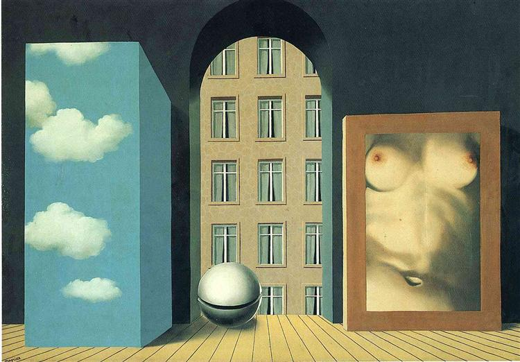 Act of violence, 1932 - René Magritte