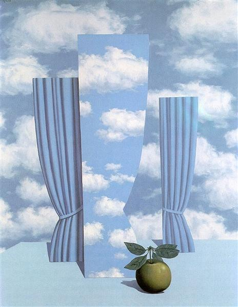 Beautiful world, 1962 - Rene Magritte