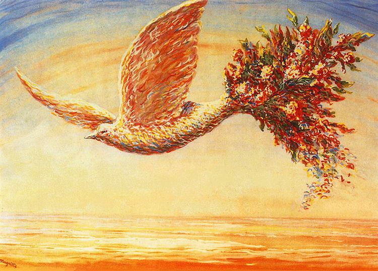 Favorable omens, 1944 - Rene Magritte