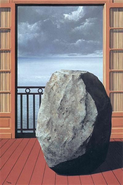 Invisible world, 1954 - Rene Magritte