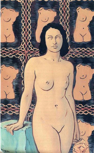 Lola de Valence, 1948 - Rene Magritte
