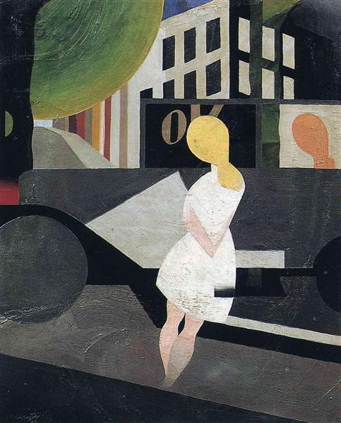 Modern, 1923 - Rene Magritte