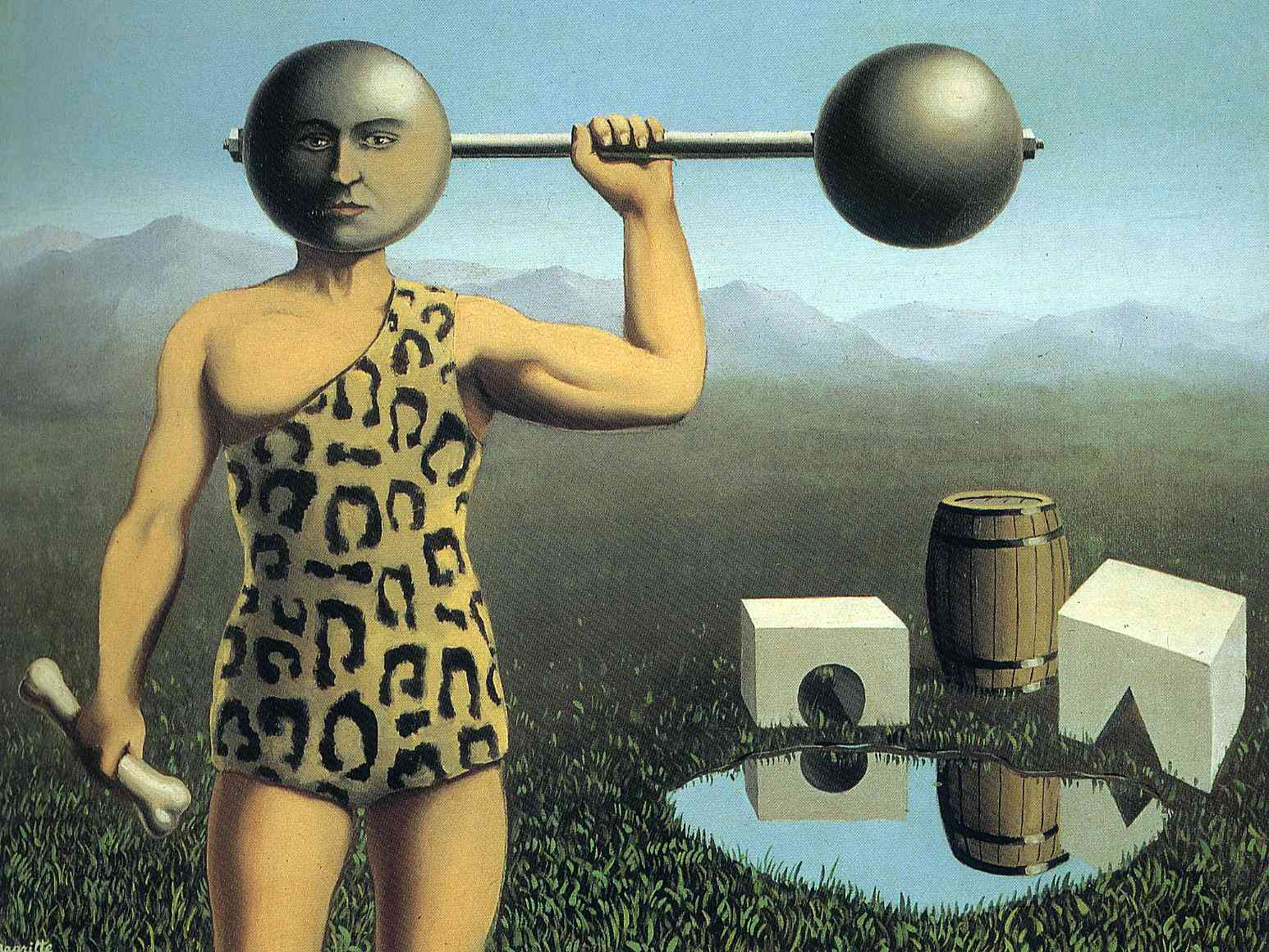 Perpetual motion, 1935 - Rene Magritte - WikiArt.org