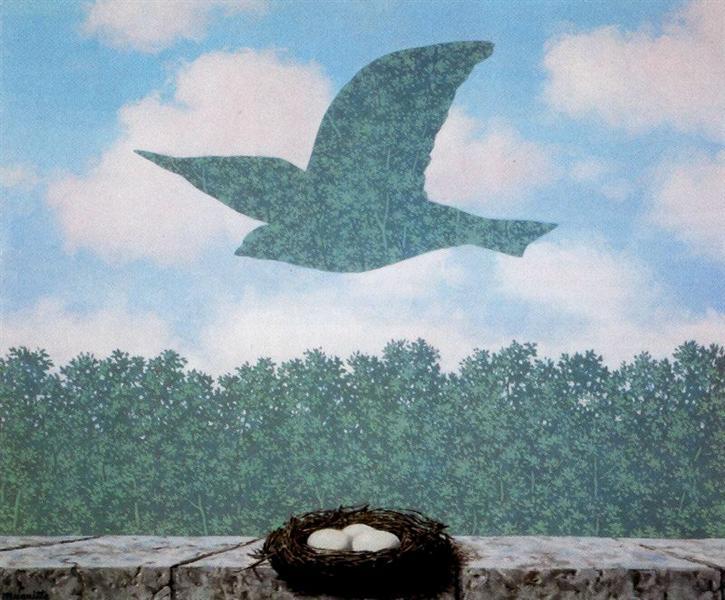 Spring, 1965 - Rene Magritte