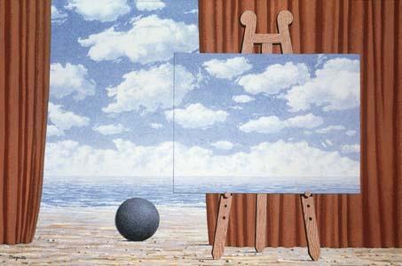 The fair captive, 1965 - René Magritte