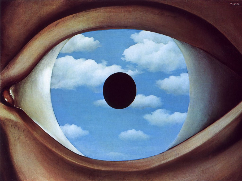 Pansy] Talks On [Dada Surrealism] [The False Mirror Magritte