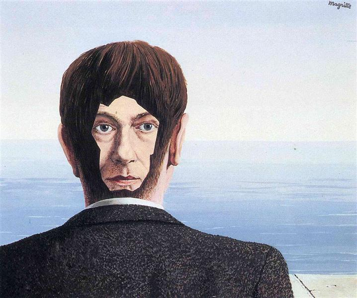 The glass house, 1939 - Rene Magritte
