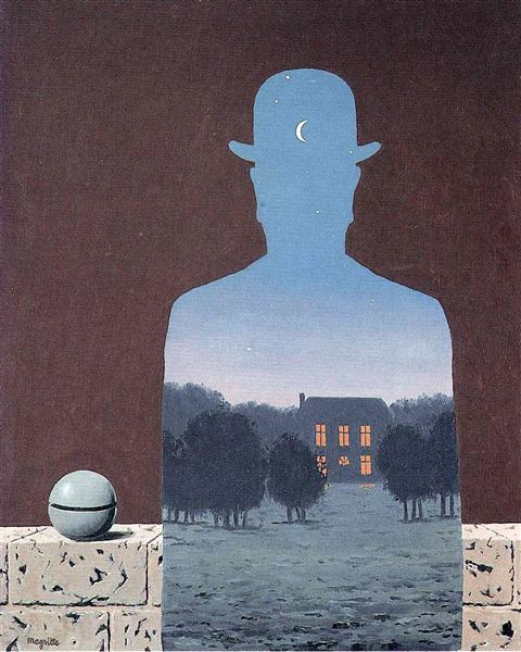 The happy donor, 1966 - Rene Magritte