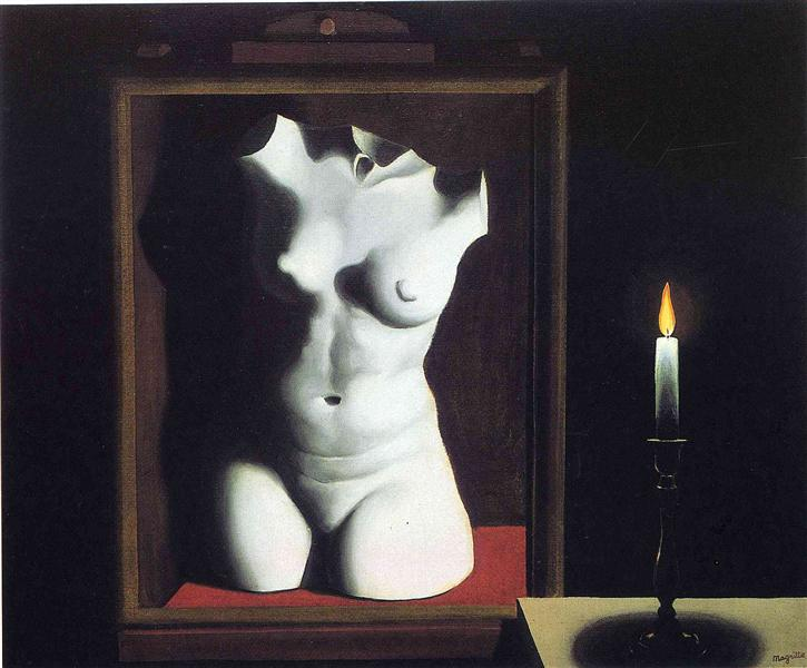 The light of coincidence, 1933 - Rene Magritte