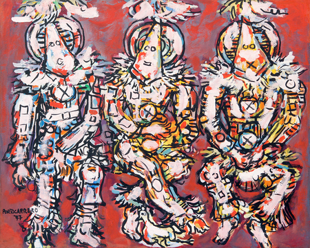 Three Sorcerers, 1977 - Rene Portocarrero