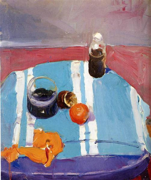 Still Life with Orange Peel, c.1950 - c.1959 - Ричард Дибенкорн