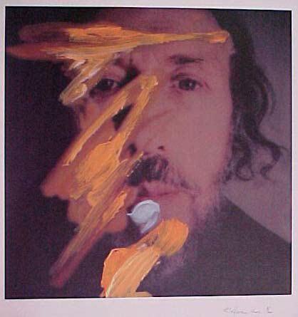 Self-portrait with yellow, 1998 - Richard Hamilton