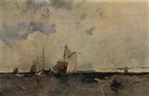 Seascape - Річард Паркс Бонінгтон
