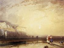 Sunset in the Pays de Caux - Річард Паркс Бонінгтон