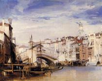 The Rialto, Venice - Річард Паркс Бонінгтон