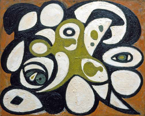 Animal Head, c.1938 - Richard Pousette-Dart