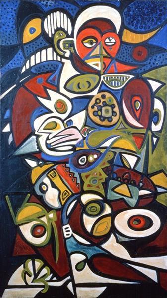 Bird Woman, 1939 - Richard Pousette-Dart