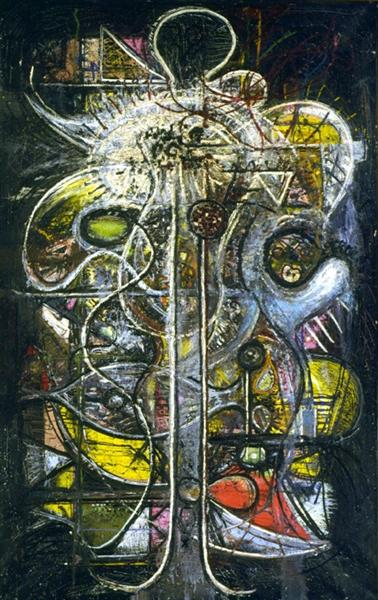 Comprehension of the Atom, Crucifixion, 1944 - Richard Pousette-Dart