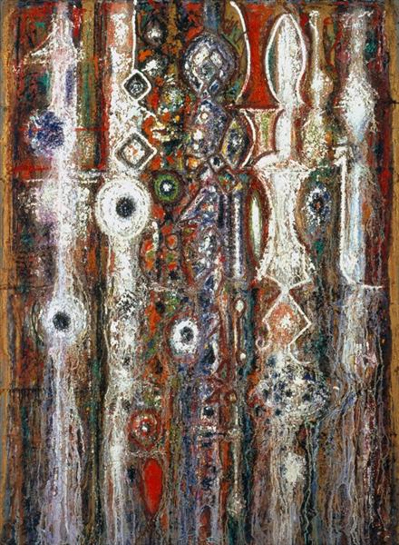 Illumination Gothic - Richard Pousette-Dart