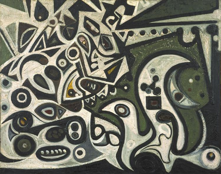 River Metamorphosis, 1939 - Richard Pousette-Dart