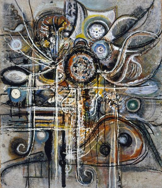 The Center, 1943 - Richard Pousette-Dart