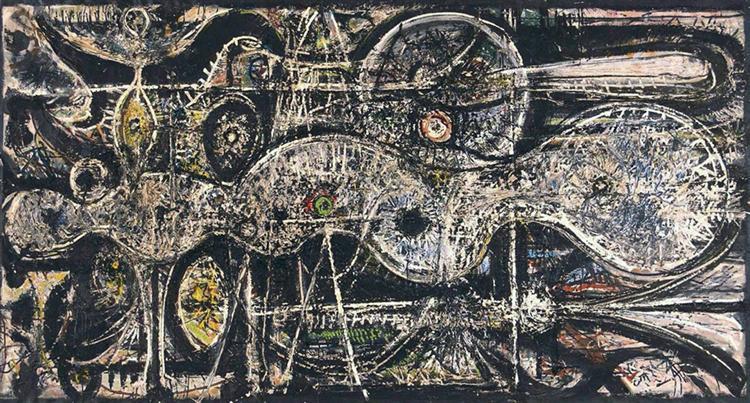 Undulation, 1942 - Richard Pousette-Dart