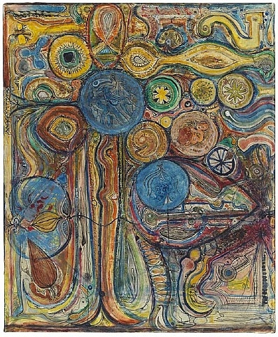 Untitled, 1946 - Richard Pousette-Dart