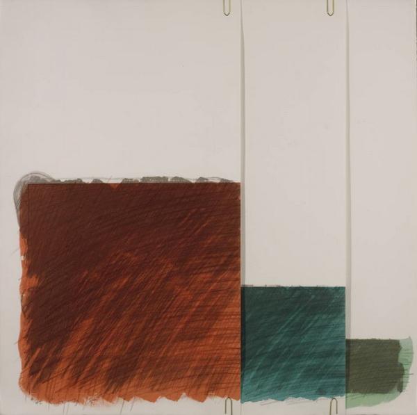 Folded Paper Clip I, 1975 - Richard Smith