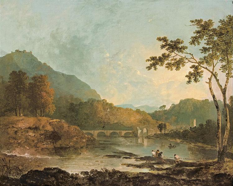 Dinas Bran from Llangollen, 1772 - Richard Wilson