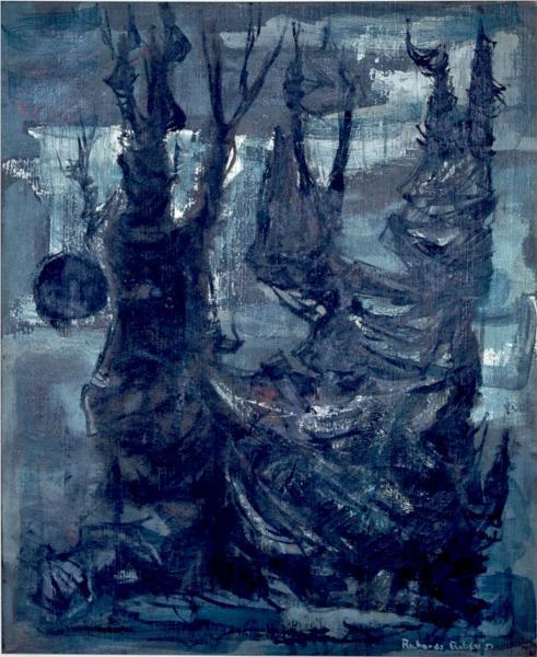 Untitled, 1951 - Richards Ruben